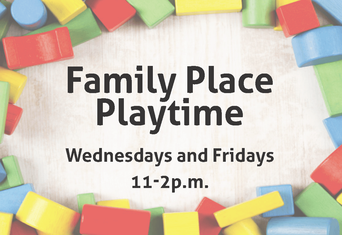 Family Place Playtime toys