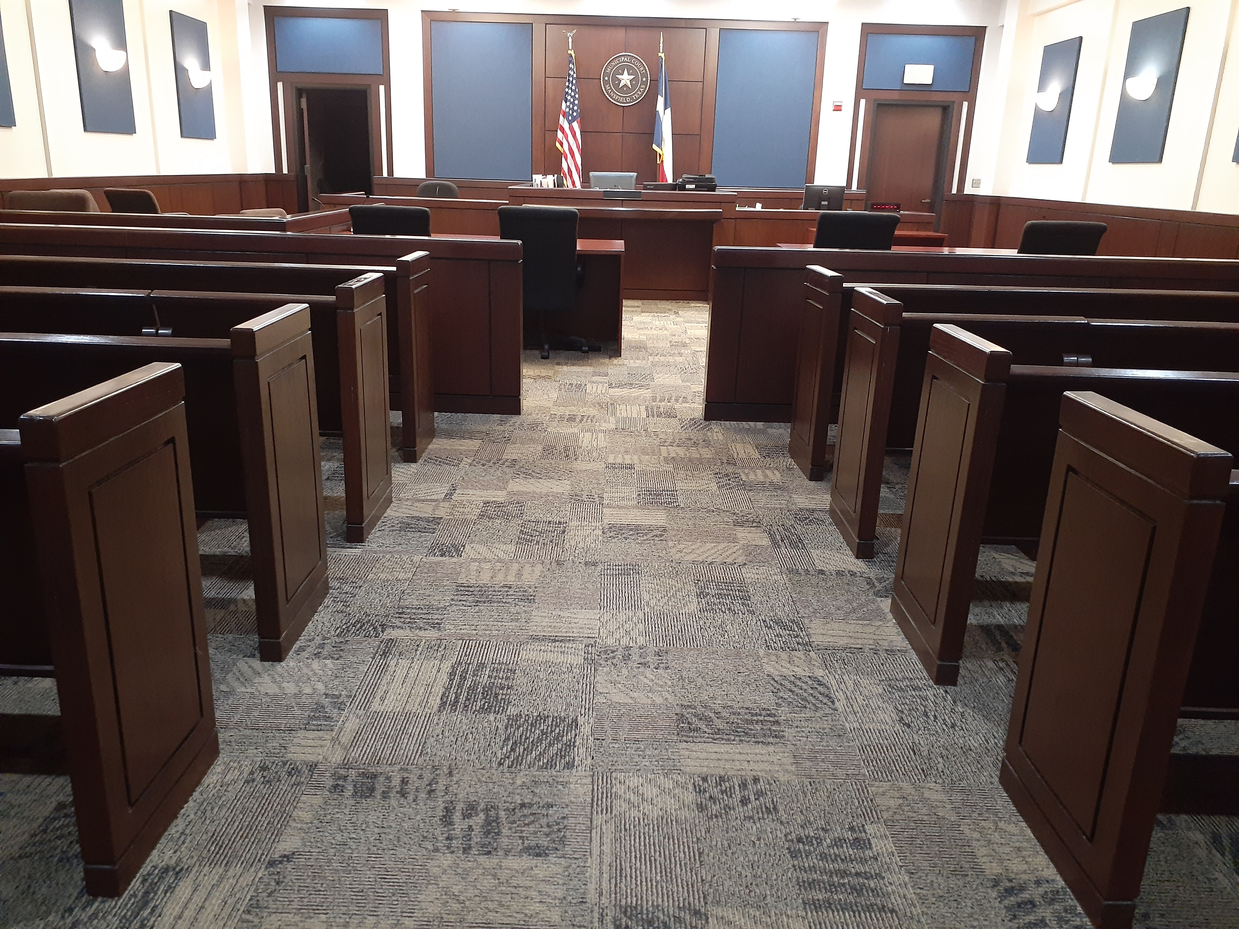 Municipal Court court room
