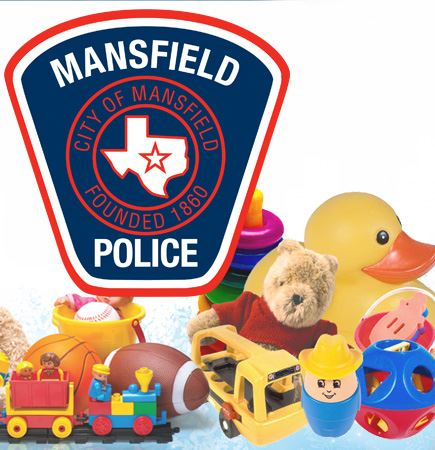 Mansfield Police food and toy drive