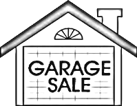 Image of house with Garage Sale