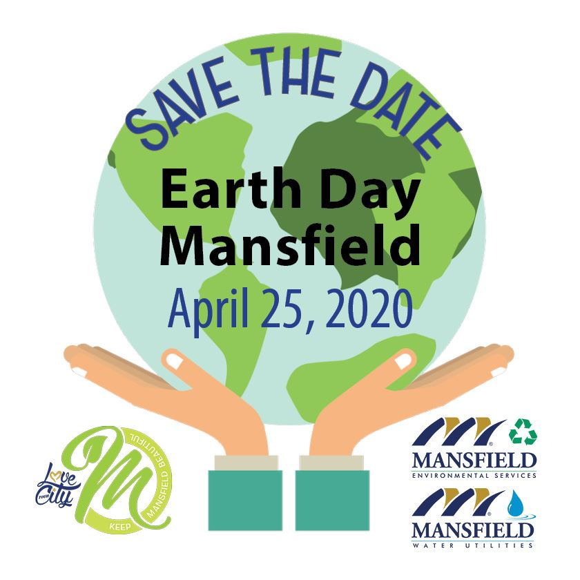 Earth Day Mansfield Save the Date