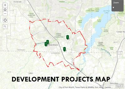 Image of the Development Projects Map