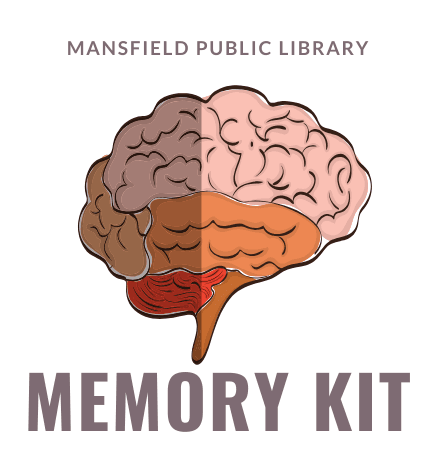 "Image of a brain stating ""memory kit"""