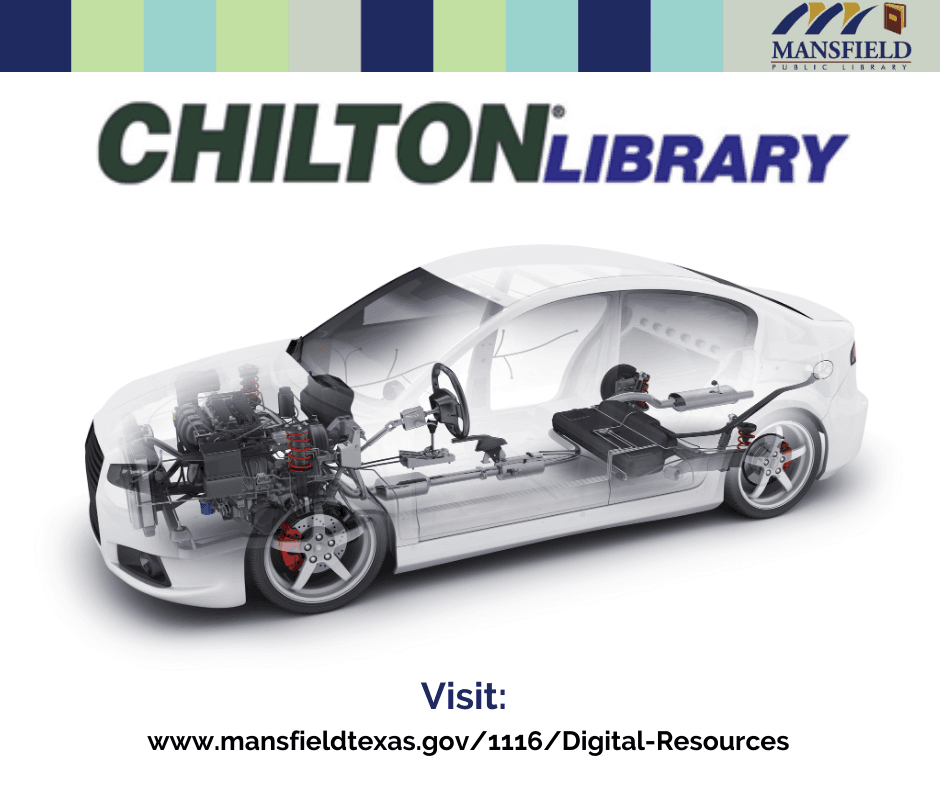 Chilton Library e-resource, image of inside of a car