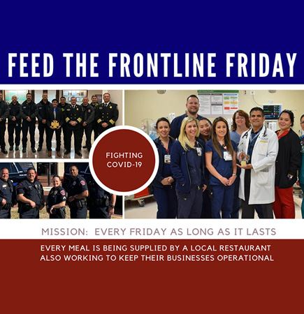 Frontline Friday raises money for food for healthcare workers and first responders