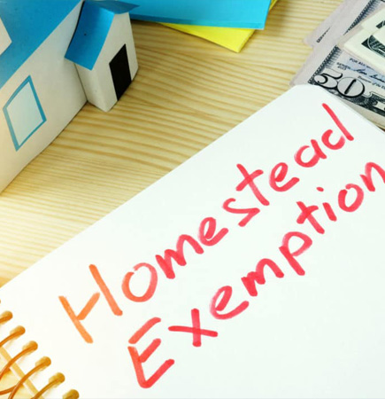 Homestead Exemption graphic