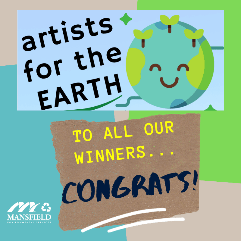 Artists for the Earth Creative Contest Winners -Congrats!