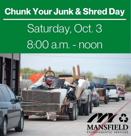 Chunk Your Junk and Shred Day