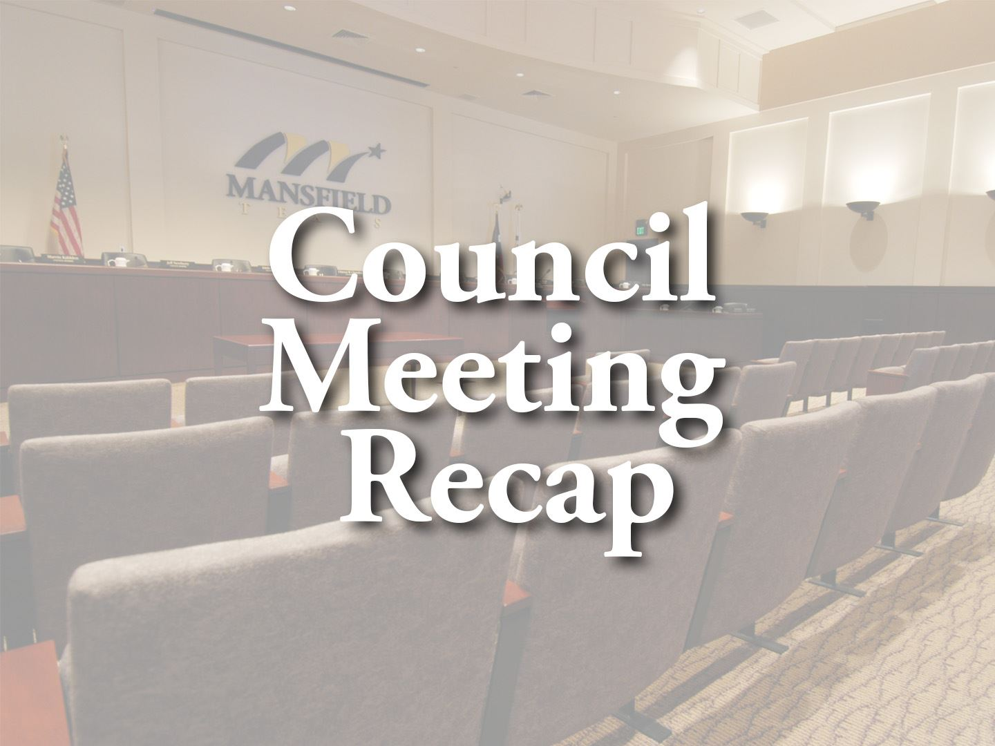 City Council Meeting Recap