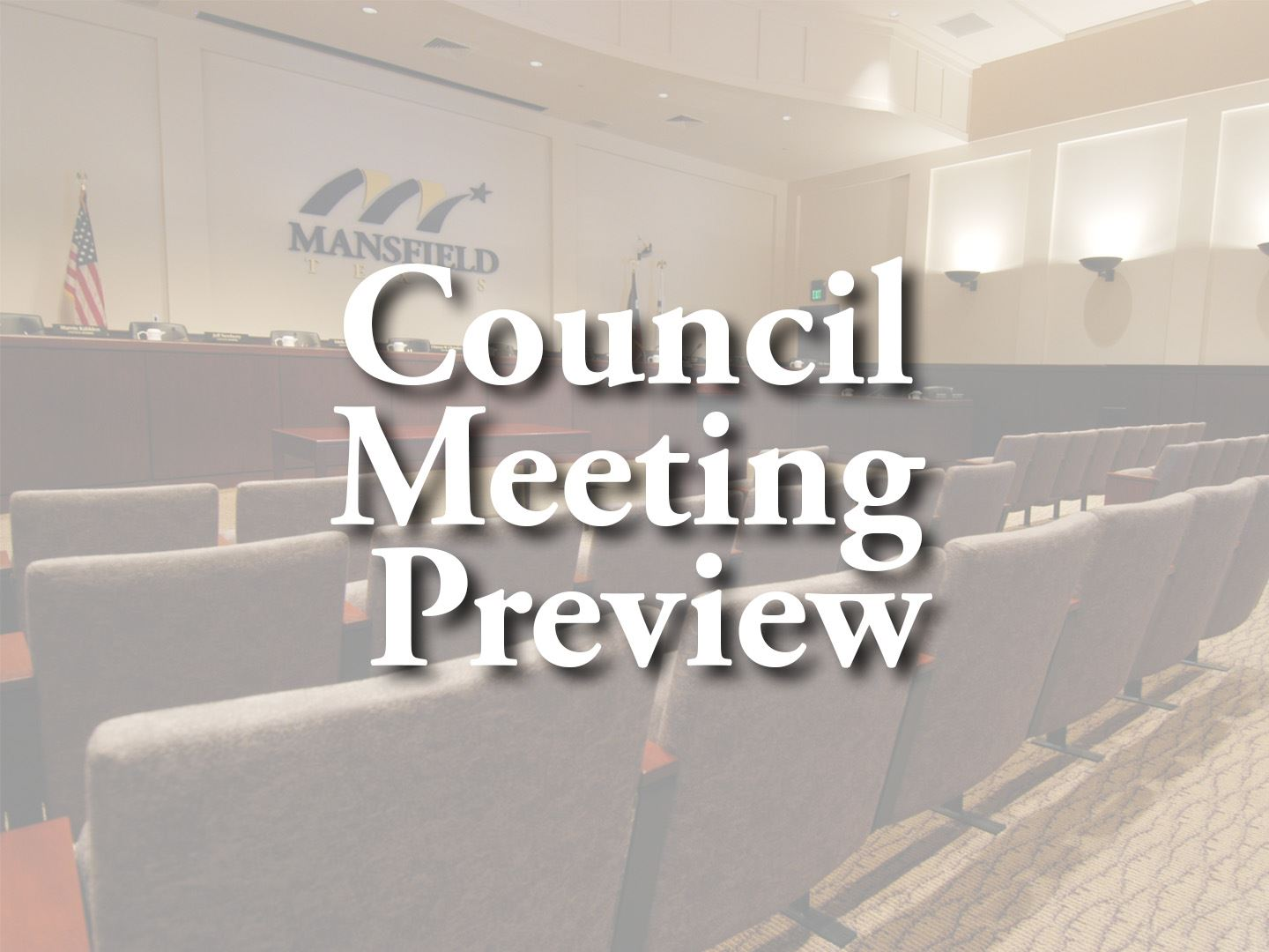 City Council Meeting Preview