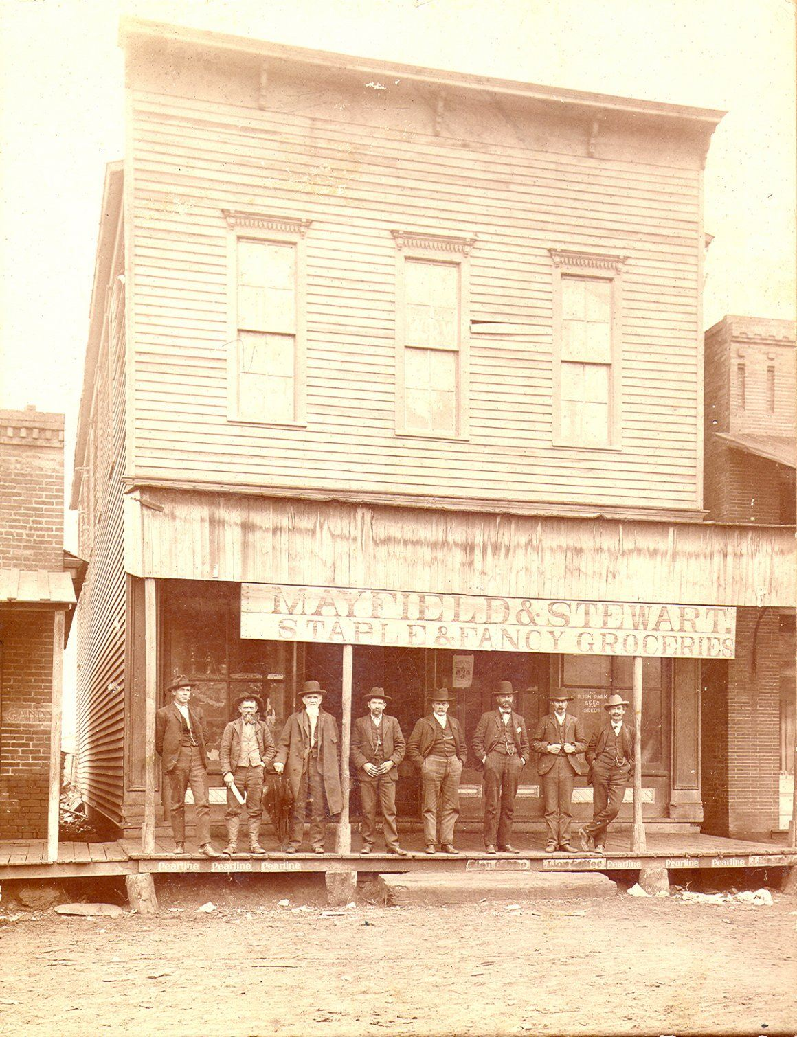 Mayfield and Stewart Grocery Store