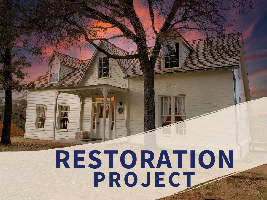 restoration project with Man House