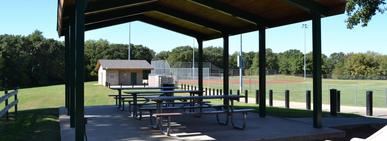 Pavilion with Picnic Tables