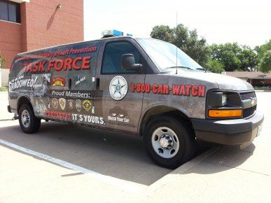 auto burglaries and auto theft task force vehicle