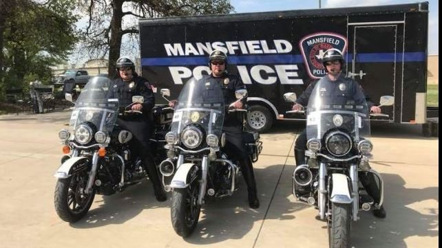 Officers on Motorcycles