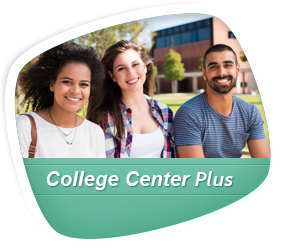 college center plus logo Opens in new window