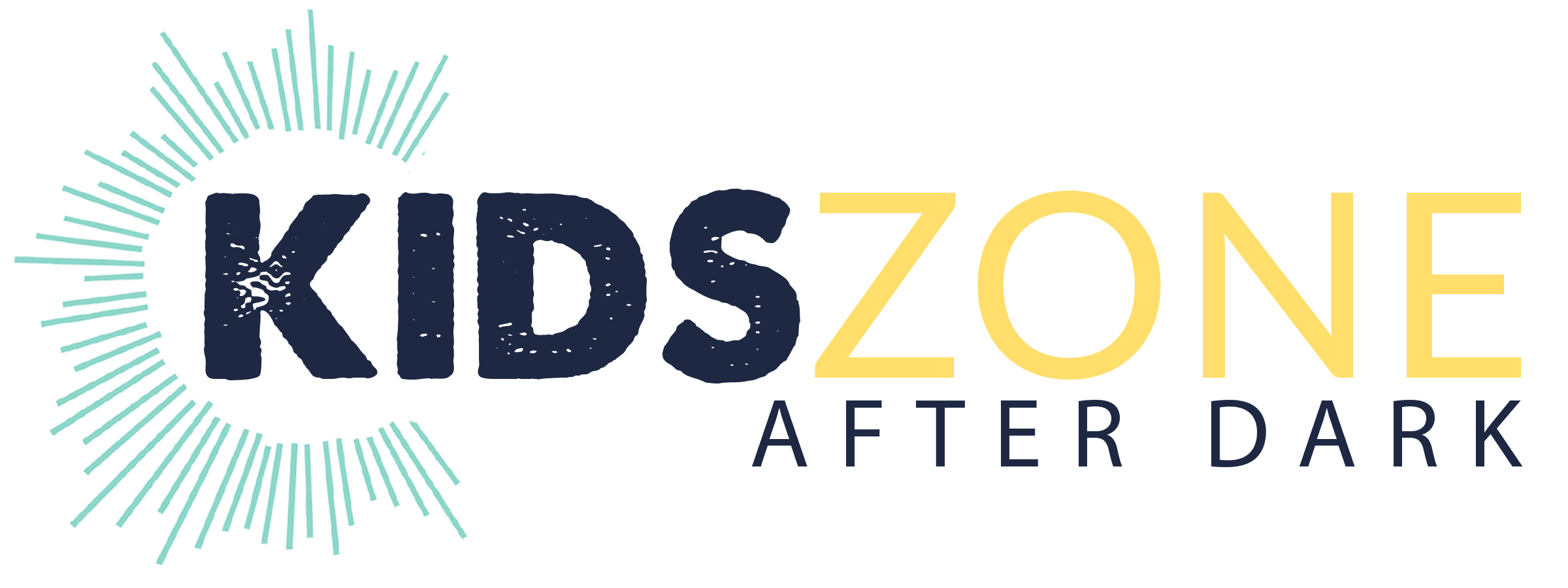 Kids Zone after dark logo