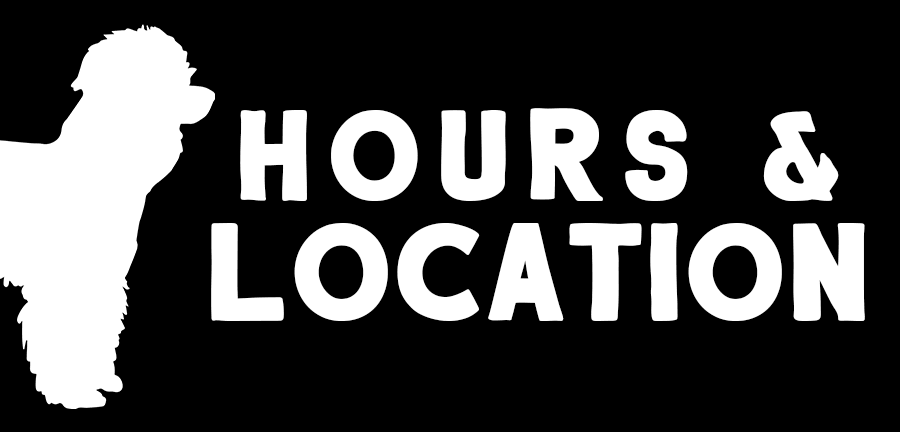 hours and location button