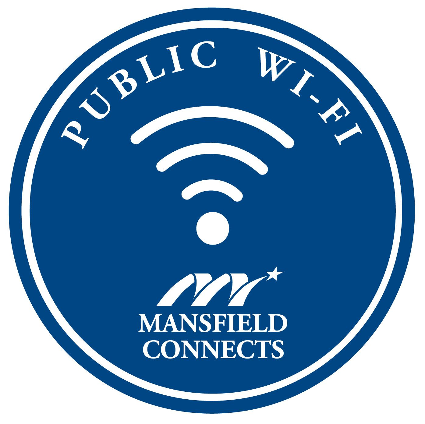 Mansfield Connect Public Wi-Fi logo