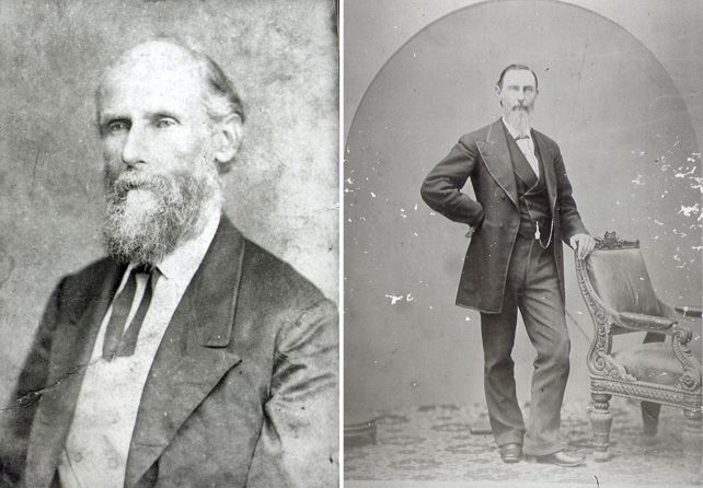 Ralph S. Man (left) and Julian Feild (right)