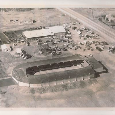 Aerial View of Kow Bell Rodeo